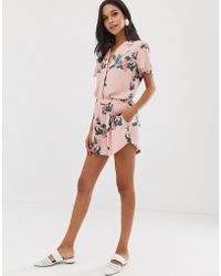 Native Youth - Relaxed Runner Shorts In Sea Horse Print Co-ord - Lyst