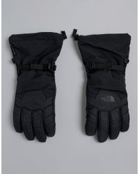 The North Face - Revelstoke Etip Snow Gloves In Black - Lyst