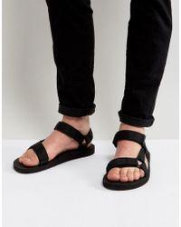 Teva - Original Universal Urban Tech Sandals In Black - Lyst