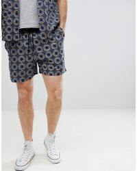 Another Influence - Co-ord Print Shorts - Lyst
