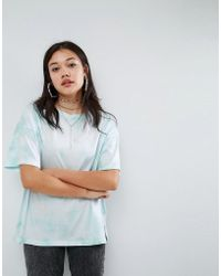 ASOS - T-shirt In Abstract Tie Dye - Lyst