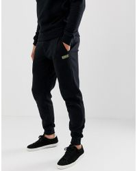 Barbour - Sweat joggers In Black - Lyst