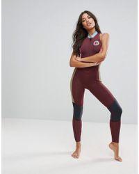 Billabong - Colour Block Salty Jane Full Length Wetsuit - Lyst