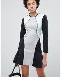 ASOS - Colourblock Pephem Shift Dress - Lyst