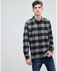 Mango | Man Regular Fit Checked Flannel Shirt | Lyst