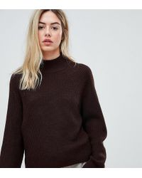 Micha Lounge - Boxy Jumper With High Neck - Lyst