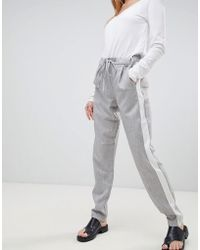 B.Young - Side Stripe Pants - Lyst