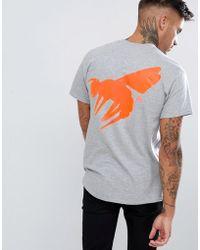 Abuze London - Abuze Ldn Neon Logo Back Print T-shirt - Lyst