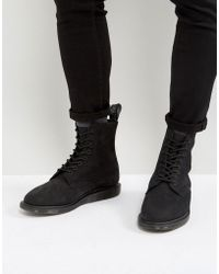 Dr. Martens - Whitton 8 Eye Wedge Boots - Lyst