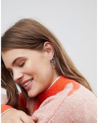 Weekday - Squiggle Statement Earring - Lyst