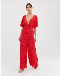 cf13f03a8f30 Finders Keepers The Someday Jumpsuit - White in White - Lyst