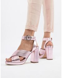 Paul & Joe - Sister Metallic Heeled Shoe - Lyst