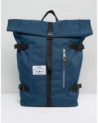 Poler - Classic Rolltop Backpack In Navy - Lyst