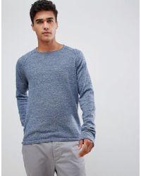 Jack & Jones - Jack And Jones Lightweight Malange Knitted Sweater - Lyst