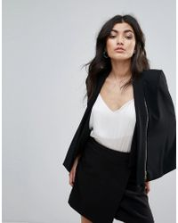 Forever Unique - Black Jacket - Lyst