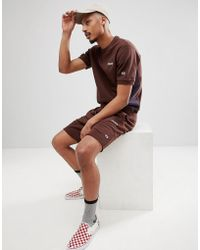 Champion - X Wood Wood Short Sleeve Boredom Sweat In Brown - Lyst