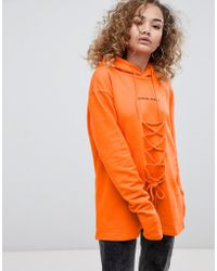 Criminal Damage - Lace Hoodie - Lyst