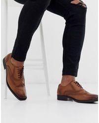 Redfoot Светло-коричневые Кожаные Оксфордские Туфли - Рыжий - Многоцветный