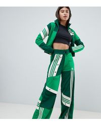 adidas Originals - X Danielle Cathari Deconstructed Track Trousers In Green - Lyst