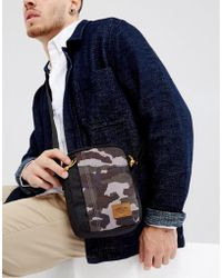 Timberland | Crofton Flight Bag In Green Camo/black | Lyst