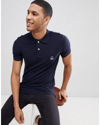 Benetton - Muscle Fit Polo - Lyst