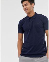 Esprit - Organic Polo Shirt In Navy - Lyst