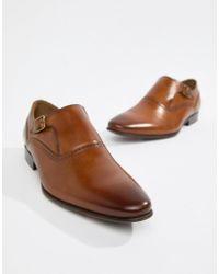 ALDO - Qerrasen Monk Shoes In Tan Leather - Lyst