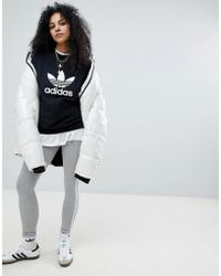 Panel With Originals Contrast Rita Ora Adidas Leggings Lyst dqPSYwcI