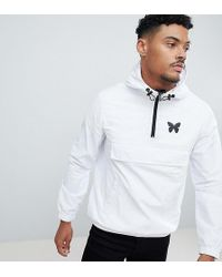 Good For Nothing - Overhead Windbreaker Jacket In White Exclusive To Asos - Lyst
