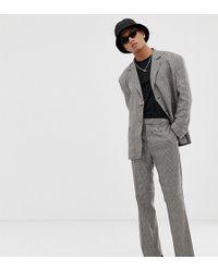 Collusion Pantalon de costume - Carreaux marron