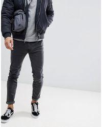 D-Struct - Skinny Clean Black Jeans - Lyst