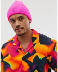 559440c9efd Lyst - ASOS Bucket Hat In Pink With What A Melt Embroidery in Pink ...