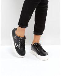 Park Lane - Embroidery Sneaker - Lyst