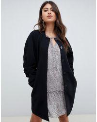 Vero Moda - Coat With Volumous Sleeves - Lyst