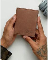 Dickies - Ridgeville Wallet In Leather - Lyst