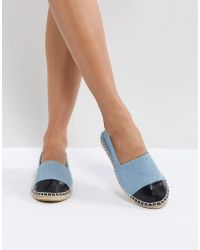 Truffle Collection - Toe Cap Espadrille - Lyst