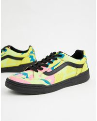 1615e66661 Vans - Highland Camo Trainers In Multi Vn0a38fdumm1 - Lyst
