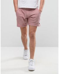 Produkt - Jersey Shorts In Marl - Lyst