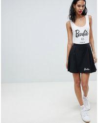 Missguided - Barbie Pleated Mini Skirt - Lyst
