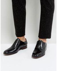 Steve Madden - Herbert Oxford Shoes In Black - Lyst