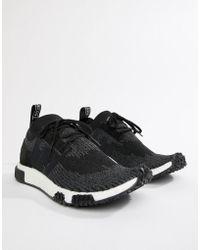 adidas Originals - Nmd Racer Pk Trainers In Black Aq0949 - Lyst