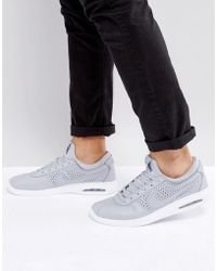 Nike - Stefan Janoski Max Leather Trainers In Grey 685299-012 - Lyst
