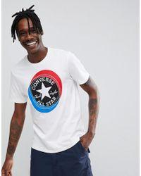 Converse - Large Circle T-shirt - Lyst