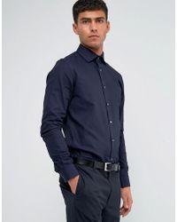 Reiss - Regular Smart Shirt With Cutaway Collar - Lyst