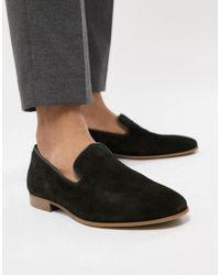 ALDO - Tralisien Slipper Loafers In Black - Lyst