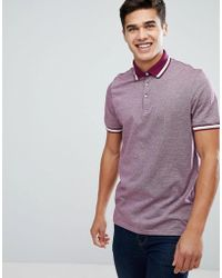 Ted Baker - Polo With Contrast Collar - Lyst