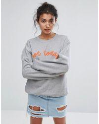 Adolescent Clothing - Not Today Sweatshirt - Lyst