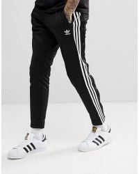 Looking For Sale Online Wholesale Price Sale Online adicolor 3-Stripe Joggers In Black CW2981 - Black adidas Originals Best Place To Buy Buy Cheap Best Wholesale New Fashion Style Of lH26t