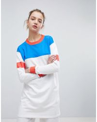 Daisy Street - Oversized Sweatshirt In Color Block - Lyst