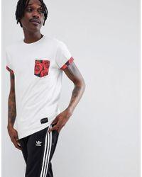 Criminal Damage - Vale Pocket T-shirt - Lyst